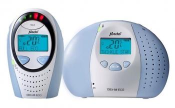 Alecto Eco DECT dětská chůvička s displejem DBX-88 LIMITED sv. modrá