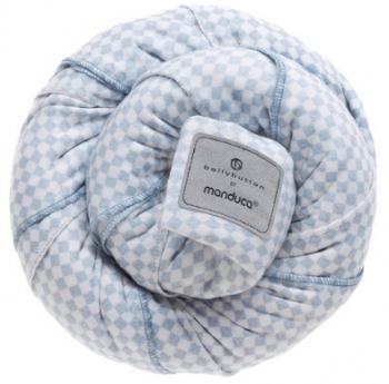 Manduca šátek Belly button sling SoftCheck blue