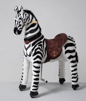 Ponnie koník Dixi Zebra M HOME