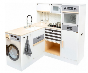 Small Foot modulární dětská  dřevěná kuchyňka XL