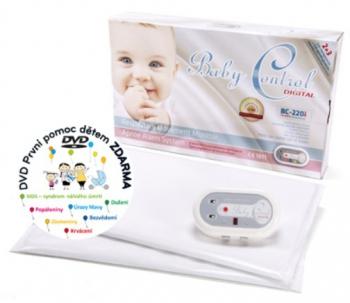 Baby Control monitor dechu Digital 220i - pro dvojčata