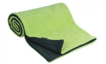 Emitex deka 70x100 cm fleece antracit + limetka
