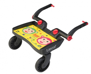 Lascal stupátko Buggy Board mini Monkey žlutý