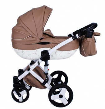 Junama kombinovaný kočárek  Impulse Eco 04 Brown