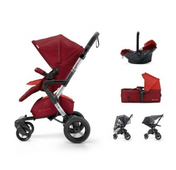 Concord mobility Set Neo Air.Safe+Scout Flaming Red 2017