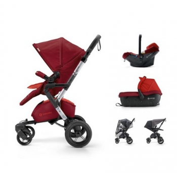 Concord travel Set Neo Air.Safe+Sleeper Flaming Red 2017
