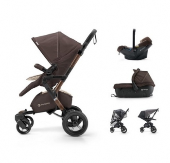 Concord travel Set Neo Air.Safe+Sleeper Toffee Brown 2017