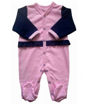 Damipa-baby overal pink