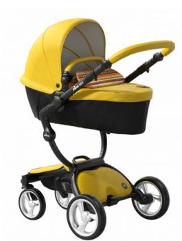 Mima Xari kočárek 3G - sedák s korbou Yellow